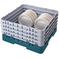 Cambro CRP2878414 Teal Full Size PlateSafe Camrack 7-8 5/8 inch