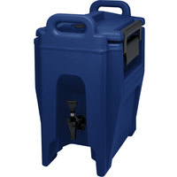Cambro UC250186 Navy Blue Ultra Camtainer 2.75 Gallon Insulated Beverage Dispenser