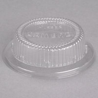 Cambro CLSRB5152 Clear Dome Lid for Cambro SRB5 5 oz. Plastic Swirl Bowls - 1000 / Case