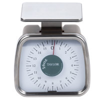 Taylor TP16 16 oz. Compact Analog Portion Control Scale