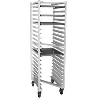 Eagle Group OUR-182 0-3-N 20 Pan Panco Z Type Nesting Bun / Sheet Pan Rack - Assembled