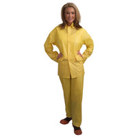 Yellow Economy 3 Piece Rainsuit - Large