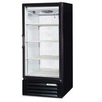 Beverage Air LV10-1-B Black LumaVue 24 inch Refrigerated Glass Door Merchandiser - 10 Cu. Ft.