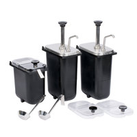 Master Bilt A050-11150 Pump and Jar Assembly Set for FLR-60 Ice Cream Dipping Cabinets