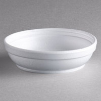 Dart Solo 5B20 5 oz. Insulated White Foam Bowl - 50/Pack