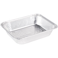 Half-Size Heavy Duty Foil Steam Table Pan 2 9/16 inch Deep 100 / Case