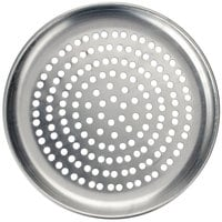 American Metalcraft HACTP16P 16 inch Perforated Heavy Weight Aluminum Coupe Pizza Pan