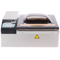 ARY VacMaster VP120 Chamber Vacuum Packaging Machine with 11 1/2 inch Seal Bar - Automatic Lid