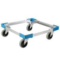 Carlisle C2220A14 Aluminum Glass Rack Dolly, No Handle