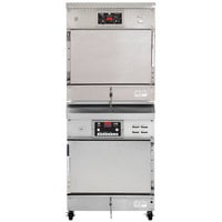 Winston Industries CAC507/HA4507 CVAP Full Height Stacked Cook and Hold Oven and Holding Cabinet - 120/240V