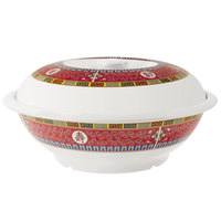 GET KT-070-L Dynasty Longevity 94 oz. Bowl with Lid - 12/Case