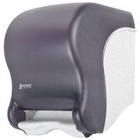 San Jamar T1490TBK Smart System Oceans Hands Free Roll Towel Dispenser - Black Pearl
