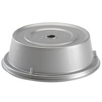 Cambro 901CW486 Camwear Camcover 9 5/16 inch Silver Metallic Plate Cover - 12/Case