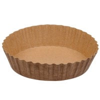 Solut 21088 8 oz. Corrugated Baking Cup with Quick Release Coating - 600/Case