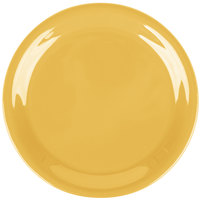 Carlisle 3300822 6 1/2 inch Honey Yellow Sierrus Narrow Rim Pie Plate - 48/Case
