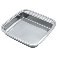 Vollrath 46137 6 Qt. Replacement Stainless Steel Food Pan for Square Intrigue Induction Chafers