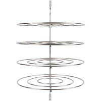 Star 4CR-3A Complete 4 Tier 18 inch Circle Pizza Rack for HFD3 Humidified Display Cases
