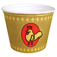 Dart Solo 5T1GR-86868 5 lb. Chicken Bucket Grease Resistant 100/Case