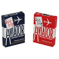 Aviator Playing Cards - Poker Jumbo Index