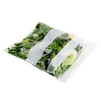7 inch x 8 inch Standard Weight 1 Qt. Seal Top Bag - 500 / Pack
