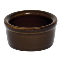 Greenware by Tuxton BAX-025 Caramel 2.5 oz. Smooth Ramekin - 48/Case