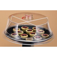 Cal Mil 303-12 Turn N Serve Continental Sample / Pastry Tray Cover 12 inch