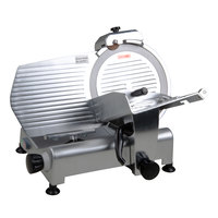 Avantco SL312 12 inch Manual Gravity Feed Meat Slicer - 1/3 hp