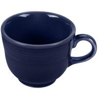 Homer Laughlin 452105 Fiesta Cobalt Blue 7.75 oz. Cup - 12 / Case