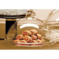 Cal Mil 311-7 Gourmet Sample / Pastry Tray Cover 7 inch