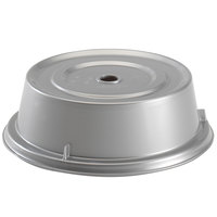 Cambro 1202CW486 Camwear 12 1/8 inch Silver Metallic Camcover Plate Cover - 12/Case