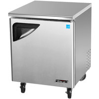Turbo Air TUF-28SD Super Deluxe 28 inch Undercounter Freezer - 7 Cu. Ft.