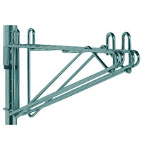 Metro 2WS18K3 Post-Type Wall Mount Shelf Support for Adjoining Super Erecta Metroseal 3 18 inch Deep Wire Shelving