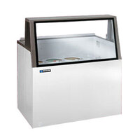 Master-Bilt DD-46L Ice Cream Dipping Cabinet Low Glass - 9.6 Cu. Ft.