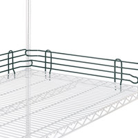 Metro L18N-4-DSG Super Erecta Smoked Glass Stackable Ledge 18 inch x 4 inch