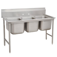 Advance Tabco 93-3-54 Regaline Three Compartment Stainless Steel Sink - 62 inch