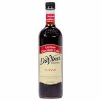 DaVinci Gourmet 750 mL German Chocolate Cake Classic Coffee Flavoring Syrup