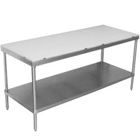 Advance Tabco SPT-245 Poly Top Work Table 24 inch x 60 inch with Undershelf