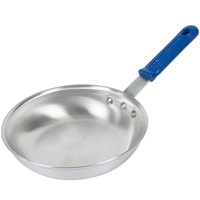 Vollrath 4008 Wear-Ever 8 inch Natural Finish Aluminum Fry Pan with Cool Handle