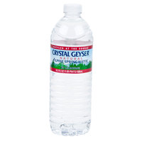 Crystal Geyser 16.9 oz. Natural Spring Water - 24/Case