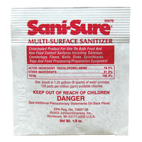 Diversey Sani-Sure 1/8 oz. Multi-Surface Sanitizer Packet - 100/Case