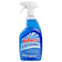 1 Qt. Noble Chemical Reflect Glass Cleaner - Ecolab® 25798 Alternative