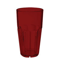 GET 9916-1-R 16 oz. Red Break-Resistant Plastic Bahama Tumbler - 72 / Case
