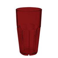 GET 9916-1-R Bahama 16 oz. Red Break-Resistant Plastic Tumbler - 72/Case