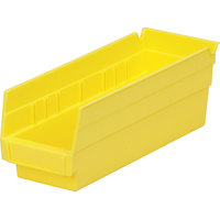 Metro MB30120Y Yellow Nesting Shelf Bin 11 5/8 inch x 4 1/8 inch x 4 inch