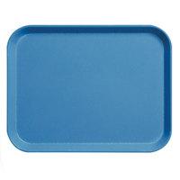 Cambro 3253CL142 Blue 13 inch x 21 inch Camlite Tray 12 / Case