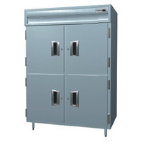 Delfield SMDFL2-SH 49.3 Cu. Ft. Solid Half Door Dual Temperature Reach In Refrigerator / Freezer - Specification Line