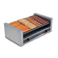 Nemco 8036-SLT-220 Slanted Hot Dog Roller Grill - 36 Hot Dog Capacity (220V)