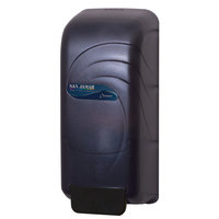 San Jamar S890TBK Oceans 800 ml Soap / Hand Sanitizer Dispenser - Black Pearl