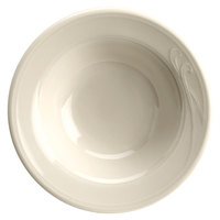 Homer Laughlin Lyrica 2.25 oz. American White (Ivory / Eggshell) China Fruit / Monkey Dish - 36/Case