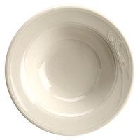 Homer Laughlin 6001000 Lyrica 2.25 oz. Ivory (American White) China Fruit / Monkey Dish   - 36/Case